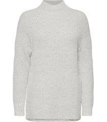 mockneck tunic sweater turtleneck coltrui grijs gap