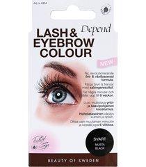 lash and eyebrow colour
