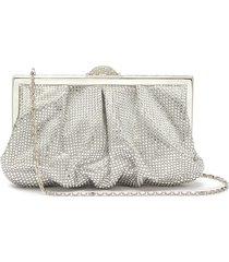'natalie' crystal embellished clutch