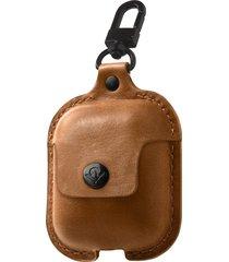 twelve south airsnap airpod case - brown