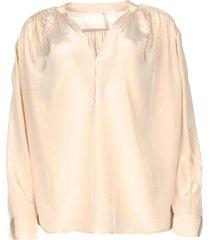 oversized blouse mag  vervaagd roze