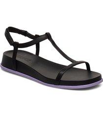 atonika shoes summer shoes flat sandals svart camper