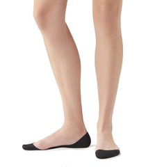 calzedonia women's side cut invisible socks woman black size 37-39
