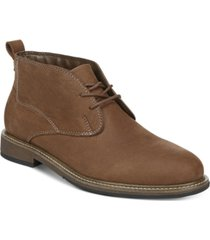 dr. scholl's men's clutch chukka leather boots men's shoes