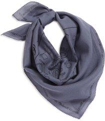madewell edge detail bandana in classic indigo at nordstrom