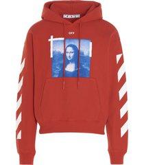 off-white blue monalisa hoodie