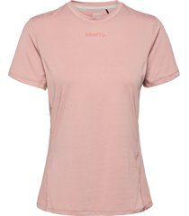 adv essence ss tee w t-shirts & tops short-sleeved rosa craft