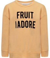 gardner and the gang beige fruit i adore sweatshirt