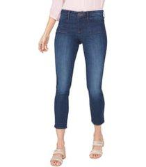 women's nydj alina utility pocket ankle skinny jeans