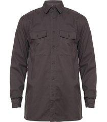 camisa gabardina gris medio rossignol