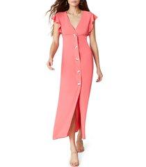 women's bb dakota that's amore button maxi dress