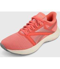 tenis running coral-blanco reebok runner 5
