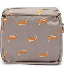 maleta zorros color morado, talla uni