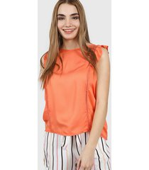 blusa naranja nano 0621