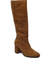 woms boots höga stövlar brun tamaris