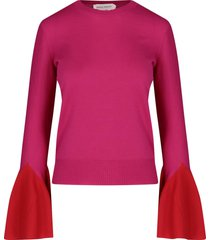 flared sleeved pullover