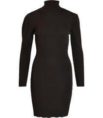 klänning vicharlotta knit rollneck l/s dress