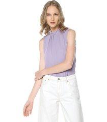 blusa lila active