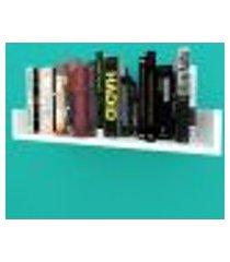 estante de livros nichos modernos em mdf branco