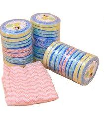 10-pcs-disposable-travel-bathing-hand-towel-non-woven-compressed-bath-face-towel