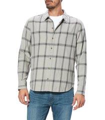 men's paige cooper plaid button-up shirt