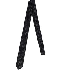 saint laurent squared tie