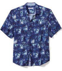 tommy bahama men's bar none 100% recycled camp shirt