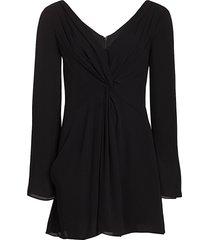 cinq à sept women's cecil dress - black - size 6