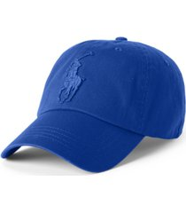 polo ralph lauren men's big pony chino cap