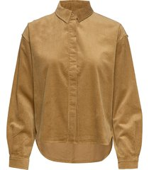 kelly overshirt 11153 overhemd met lange mouwen bruin samsøe samsøe