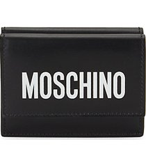logo leather wallet