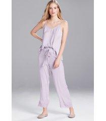 fairytale pants pajamas, women's, purple, size l, josie