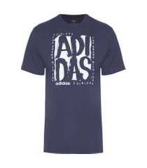 t-shirt masculina graphic tee short sleeve - azul