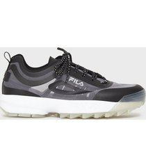 fila disruptor run sneakers black