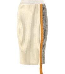 moncler knit pencil skirt