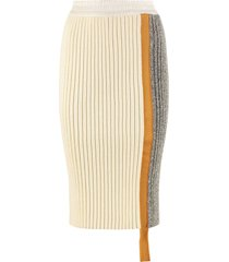 moncler knit pencil skirt