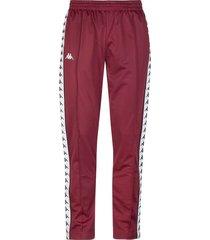 pantalon para hombre 222 banda astoria slim kappa rojo