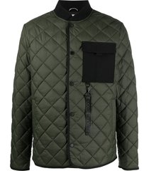 moose knuckles fall out jacket - green