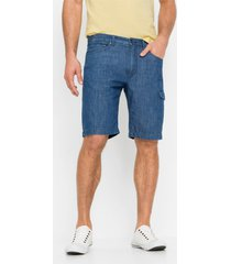 regular fit jeans bermuda van zomerdenim (set van 2)