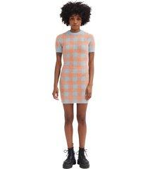 feeling peachy knit dress