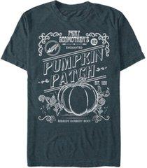 disney men's cinderella fairy godmother's pumpkin patch short sleeve t-shirt