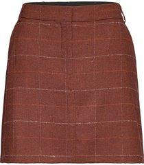 rubino kort kjol brun max&co.