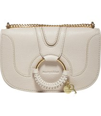 see by chloé hana evening leather shoulder bag