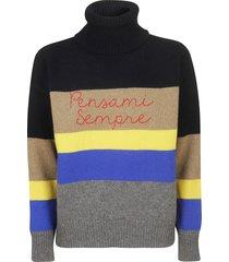 giada benincasa funnel neck sweater