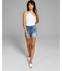 and now this women's one-shoulder cutout bodysuit
