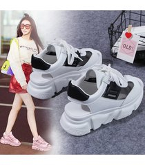sandalias de plataforma para las mujeres boca de pescado sandalias