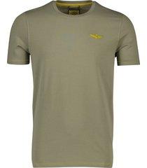aeronautica militare t-shirt groen ronde hals