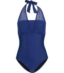 costume intero modellante livello 1 (blu) - bodyflirt