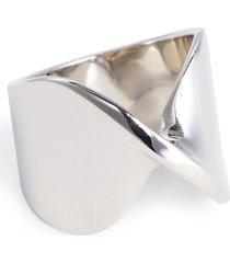 women's st. john collection open twist metal ring