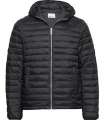 light puffer jacket fodrad jacka svart shine original